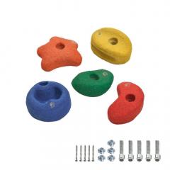 5 Mászókövek 90 mm színes