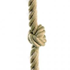 Mászókötél csomókkal 26 mm