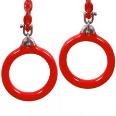 Alumínium gyűrűk, kerek, köztéri