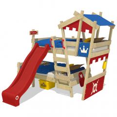 Wickey CrAzY Castle Emeletes ágy csúszdával